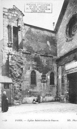 1 Eglise St Julien le Pauvre