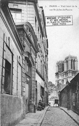 10 rue St Julien le Pauvre