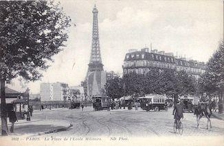 1003. Paris. La place de l'Ecole militaire