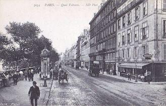 1008. Paris. Quai Voltaire