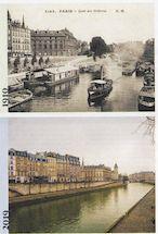 1010. Quai des Orfèvres 1910 et 2019