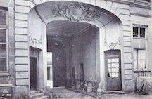 1012. Paris. Hôtel du Maréchal d'Estrées rue de l'arbalète (1889 )