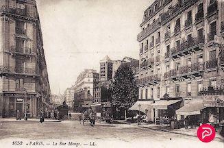 1013. Paris. La rue Monge