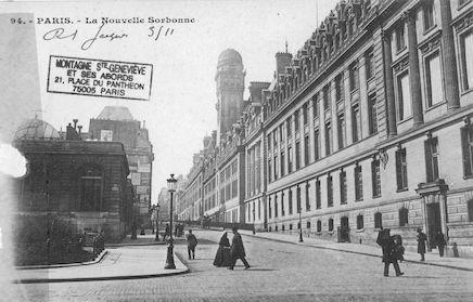103 La nouvelle Sorbonne