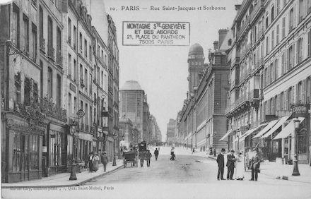104 Rue St Jacques et nouvelle Sorbonne
