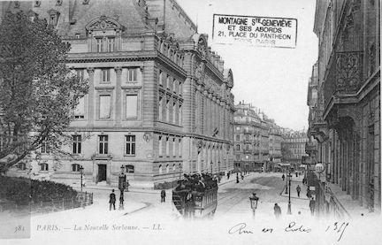105 La nouvelle Sorbonne vue depuis la rue des Ecoles