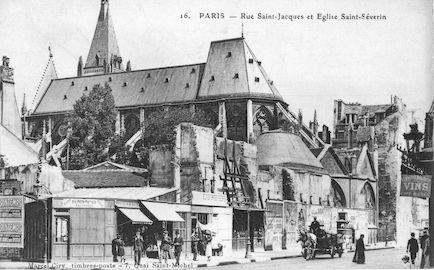 11 Eglise St Séverin-rue St Jacques