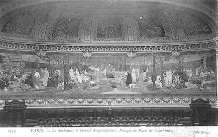 112A  La Sorbonne. Le Grand Amphi.