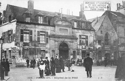 122 Hôpital de la Pitié