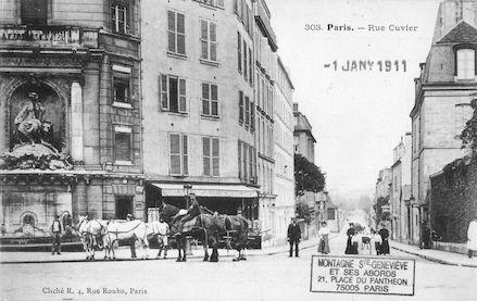 125 Rue Cuvier et fontaine Cuvier