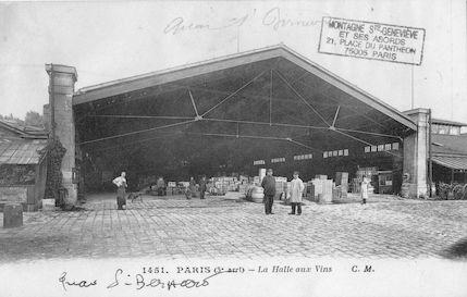 127  La Halle aux vins