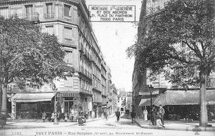 131 Rue Scipion au boulevard St Marcel