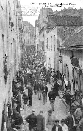133 Rue St Médard. marché aux puces