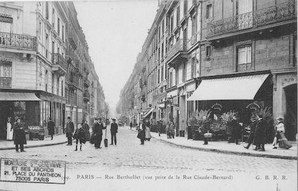 159 Bis  Rue Berthollet vue de la rue Claude Bernard