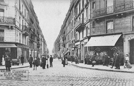 159A Rue bertholet vue de la rue Claude Bernard