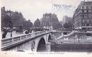 16  Pont et place St Michel