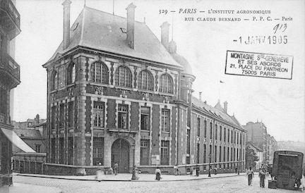 163 Rue Claude Bernard. L'institut Agronomique