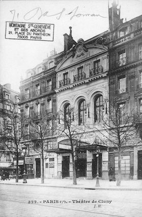 169A  Théâtre de Cluny