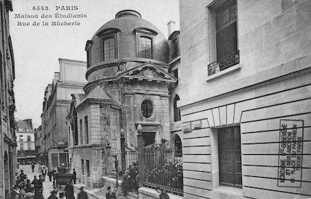 175  Maison des étudiants. Rue de la Bûcherie