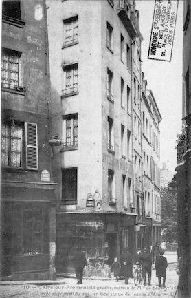 176 Carrefour Fromentel et maison de Melle de Scudery