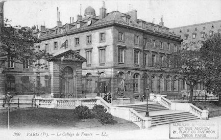 180  Collège de France