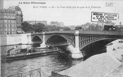 188 Le pont Sully près du quai de la Tournelle