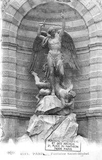 19 Fontaine St Michel, détail