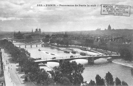 193 Panorama de Paris la nuit