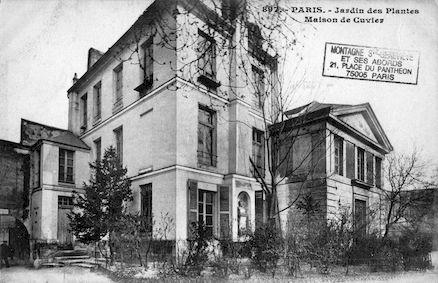 199  Jardin des plantes. maison de Cuvier