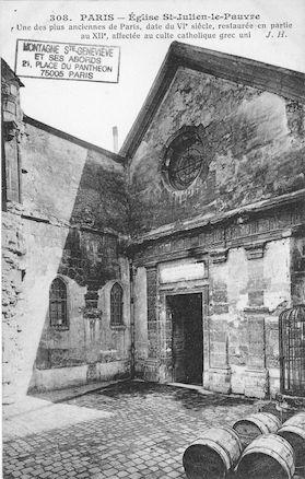 2 Eglise St Julien le Pauvre