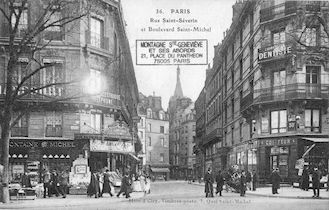 26b Rue St Séverin et Boulevard St Michel