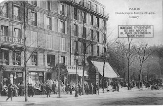 27  Boulevard St Michel et Cluny