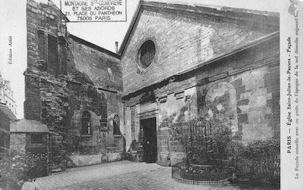 3 Eglise St Julien le Pauvre