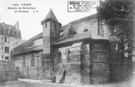 4 Eglise St Julien le Pauvre