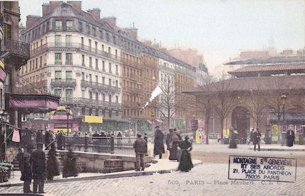 41coul Place Maubert. Marché des Carmes