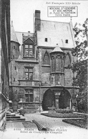 48 Musée de Cluny. La chapelle