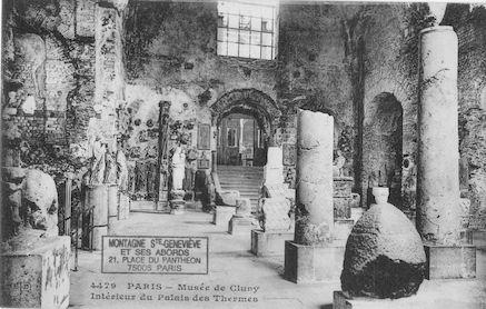 51 Musée de Cluny. Intérieur Palais des Thermes