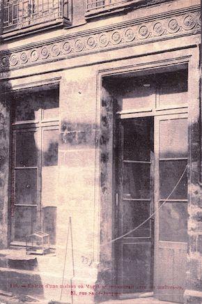 542 Maison où Murat rencontrait ses maitresses. 23 rue Saint Jacques