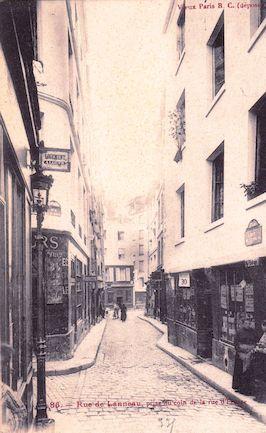 543 Rue de Lanneau prise du coin de la rue d'Ecosse