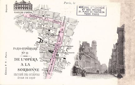 557 Paris-Itinéraire n°11 De l'Opéra à la Sorbonne