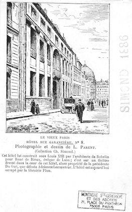 562 Hotel rue Garancière n°8