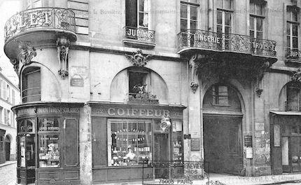 566 Hôtel des du Tillet de Bussière rue St André -des-Arts