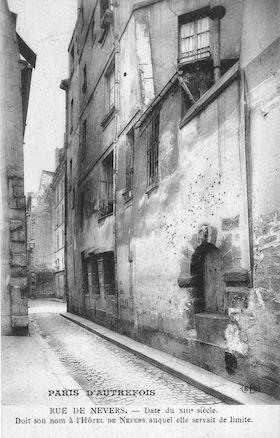 569 Rue de Nevers (date du XIIIè siècle)