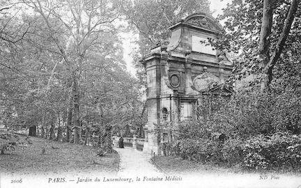 576 Jardin du Luxembourg. La Fontaine Medicis