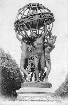 579 Jardin du Luxembourg  Fontaine de Carpeaux.