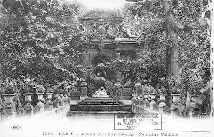 583 Jardin du Luxembourg La Fontaine Médicis