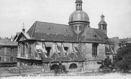 586 Chapelle de St Joseph des Carmes. Rue de Vaugirard