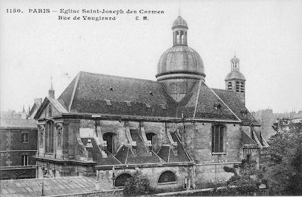 587 Chapelle de St Joseph des armes. Rue de Vaugirard