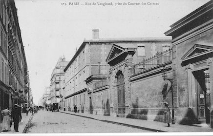 589 Rue de Vaugirard prise du Couvent des Carmes