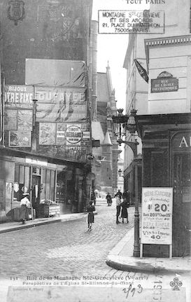 59 Rue de la Montagne Ste Geneviève